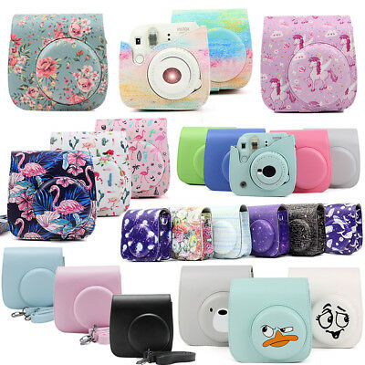 Fujifilm Instax Mini 8 9 Instant Polaroid Camera Case Cover Carrying Bag Shell