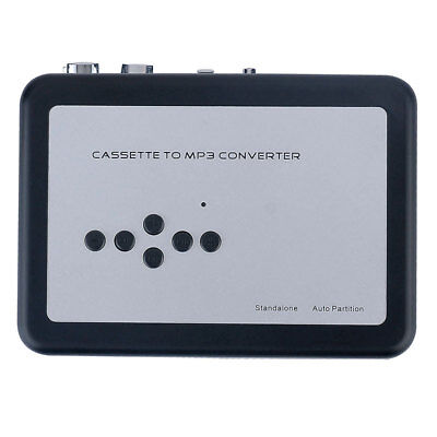 Tape-to-MP3 Converter Flash Auto Partition Standalone Recorder Earphone