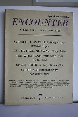 Encounter magazine April 1954 (Vol. II No 4)
