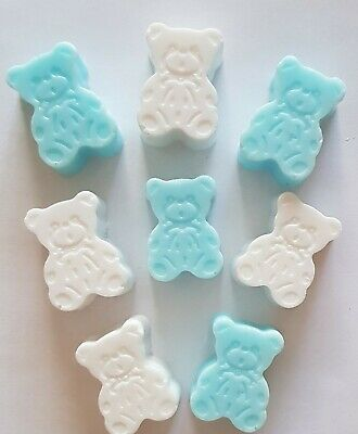 Handmade Teddy Bear Soaps, New Baby, Baby Shower, Baby Gift, Party Bag Filler