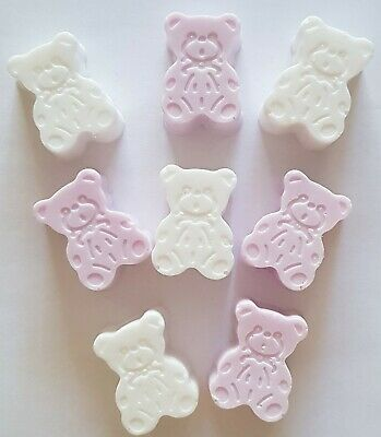 Handmade Teddy Bear Soaps, New Baby, Baby Shower, Baby Gift