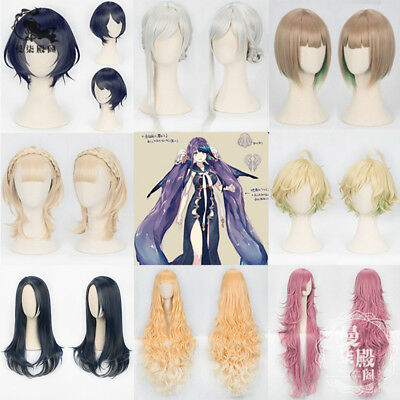 Kids Costumes & Accessories Sinoalice Cosplay Wig Alice Snow White Silver Braids Hair Buns
