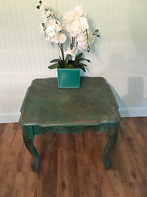Antique Upscaled Coffee/end Table - Solid Wood