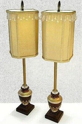 NeoClassical ShabbyChic Vintage Buffet FauxWood Eames MidCentury Lamps NoRe$erve