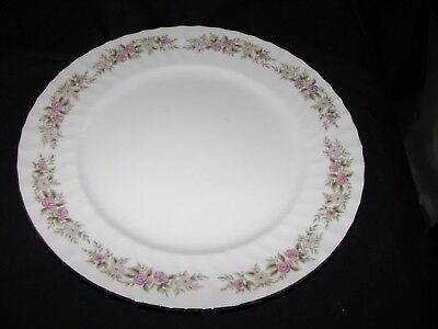 "Dansico Fine China Teahouse Rose 10 1/4"" Dinner Plate - Japan"