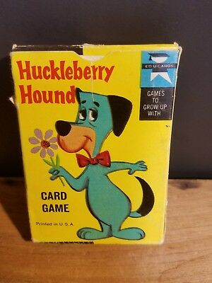 Huckleberry Hound Card Game (Hanna Barbera,Dated 1961)