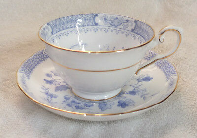Vintage Royal Tuscan 'Oriental' Gold Trim Cup and Saucer C935 or 955?
