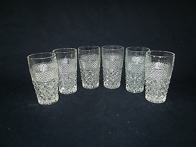 10ounce Flat Tumblers in Wexford by Anchor Hocking  (Set of 6)