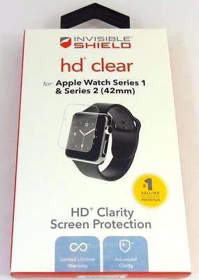 Zagg Invisible Shield HD Clear Screen Protection for Apple Watch Series 1&2 42mm