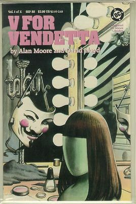 V for VENDETTA #1 (DC Comics, 1988) ~ Alan Moore