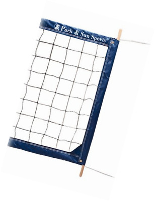 Park & Sun Sports Regulation Size Indoor/Outdoor Professional Volleyball Net wit