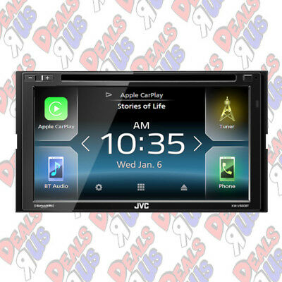 "JVC KW-V830BT In-Dash 6.8"" Car Stereo 2-DIN DVD Receiver w/ Bluetooth & Remote"