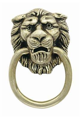 Lion Head Classics Ring Pull - Antique Brass (Set of 10) [ID 86433]