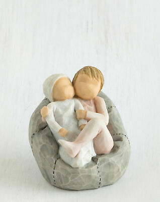 Willow Tree Figurine My New Baby (blush) Lots to Learn to Love Susan Lordi 27780