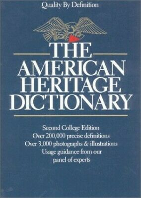 American Heritage Dictionary of the English ... by American Heritage Di Hardback