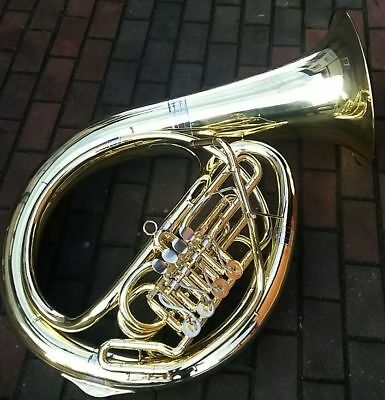 Made in Germany. Leichtes Bb HELIKON Tuba Weltklang B&S Markneukirchen HELICON