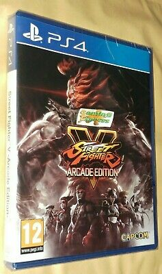 Street Fighter V Arcade Edition Playstation 4 PS4 NEW SEALED UK SELLER