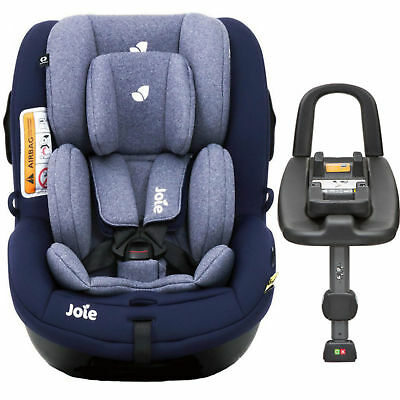 New Joie Eclipse I Anchor Advance Group 0+/1 Car Seat Baby Carseat & Isofix Base
