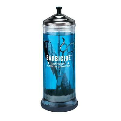 Barbicide Disinfecting Sterliser Glass Jar Large