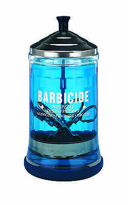Barbicide Salon Barber Professional Disinfecting Jar  Medium