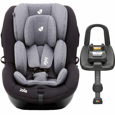 New Joie Two Tone Black I Anchor Advance Group 0+/1 Car Seat Baby & Isofix Base