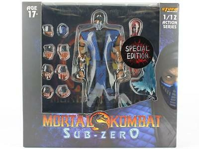 Storm Collectibles Mortal Kombat SUB-ZERO Bloody Variant 1/12 Action Figure USA