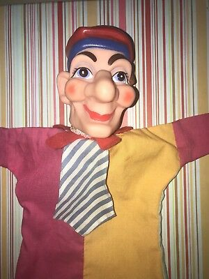 Vintage Hand Puppet - Punch And Judy Style Punch