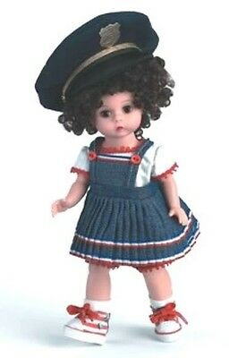 "New In Box Beautiful Madame Alexander 8"" Daddy's My Hero # 36765 Doll/hat Nrfb"