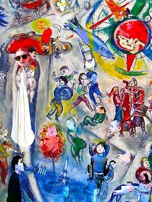 FROM MAEGHT, CHAGALL REVISITED  digital  art