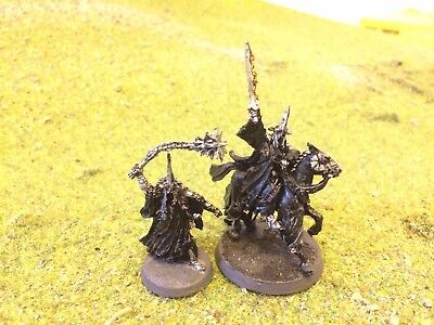 Games Workshop Lord Of The Rings - The Witch King, Mounted And On Foot - Painted