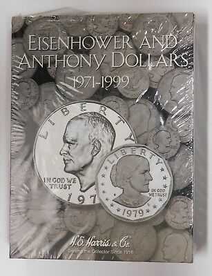 """S.B.A H.E HARRIS /""""2699/"""" EISENHOWER 1971-1999  FOLDER NEW WITH FREE SHIPPING!"""