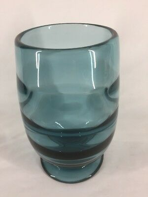 Royal Brierley KEITH MURRAY Art Glass Vase (ref G170