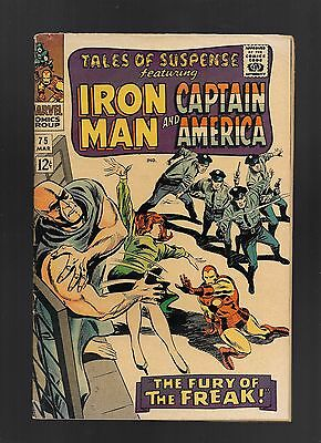 Tales of Suspense #75 (Mar 1966, Marvel) 1st Sharon Carter 1st Batroc