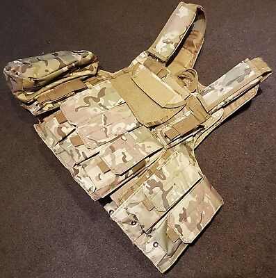Airsoft Plate carrier C.I.R.A.S. Multicam  (Repro)