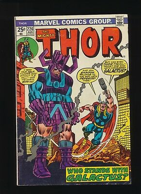 Thor #226! MARVEL COMICS 1974! 2nd App of Firelord! SEE PICS AND SCANS WOW!