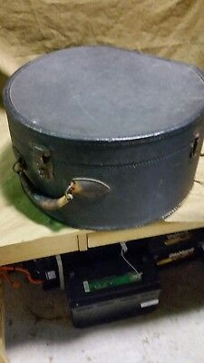 Antique Vintage Steamer Suitcase Hatbox Luggage