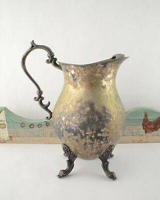 Vintage Pitcher English Silver MFG. Corp. Silverplated
