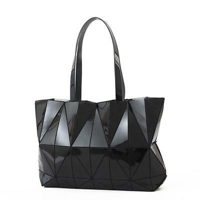 12d41b6570a0 Women Japan style Handbag Geometric Laser Bao Bao Luminous Lingge Bag Bucket
