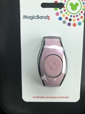 Disney Parks Magic Band 2.0 Millennial Pink Rose Gold New MagicBand 2 NEW