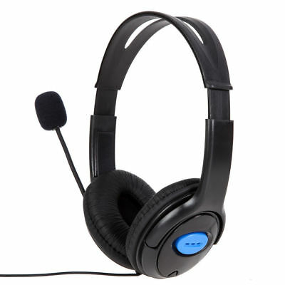 Wired Stereo Gaming Headset Headphone with Microphone for Sony PlayStation 4 PS4