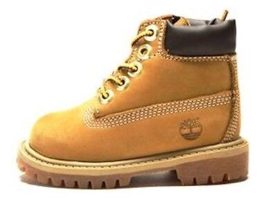 """Timberland Toddler's 6"""" Premium Boots 12809 Wheat"""
