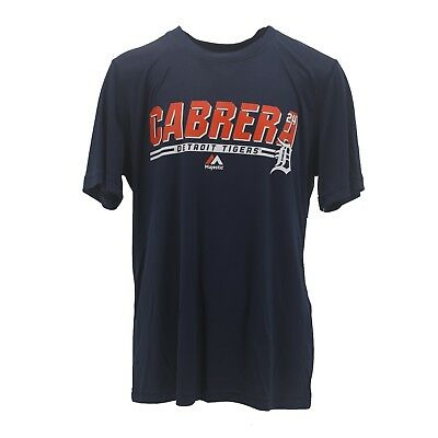 Detroit Tigers Kids Youth Size Miguel Cabrera Official MLB Athletic T-Shirt New