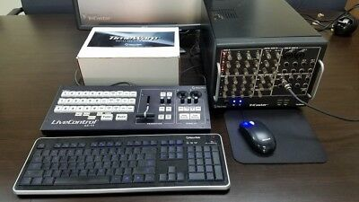 NewTek TriCaster TCXD300 Portable Live HD Production System w/Case and more!