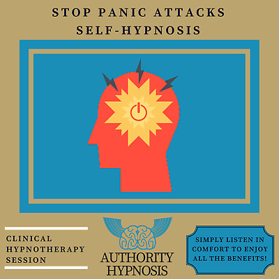 Stop Panic Attacks Hypnosis, Eliminate Fear, Enjoy Anxiety Free Life Today
