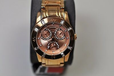 5NEW - RELIC By Fossil Ladie's Casual Watch - Rose Gold Tone  - Model ZR15668