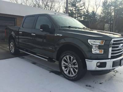 2015 Ford F-150  Ford F150 Supercrew Leather, Pano Sunroof, Nav, Heated Seated, Loaded 4x4