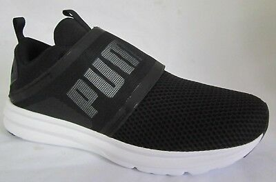 5ed83703632a2f PUMA ENZO STRAP Black Men Walking Shoes 9 -  59.99