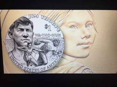 2018 P&D Sacagawea Native American Dollar US MINT from MINT ROLL PRESALE
