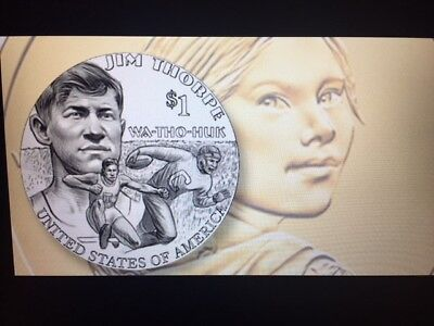 2018 P&D Set Sacagawea Native American Dollar US MINT from MINT ROLL