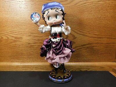 Rare Danbury Mint Betty Boop - Mystic Betty with box, SHIPS FREE!